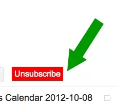 "Click the word ""unsubscribe"""