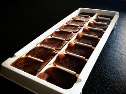 Freeze coffee in ice trays to avoid watered-down coffee.
