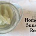 Homemade Sunscreen
