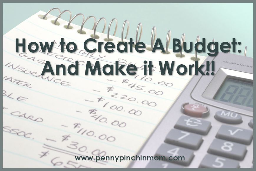 How to Create a Budget and Make it Work - Thifty Sue