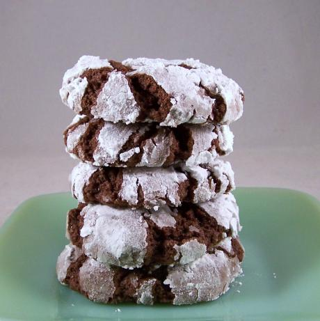 Ingredient Chocolate Crinkle Cookies - Thifty Sue