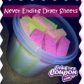 Homemade Never Ending Dryer Sheets