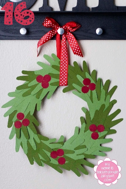 Weekend workshop christmas diy craft wreaths thifty sue for Advent crafts for adults