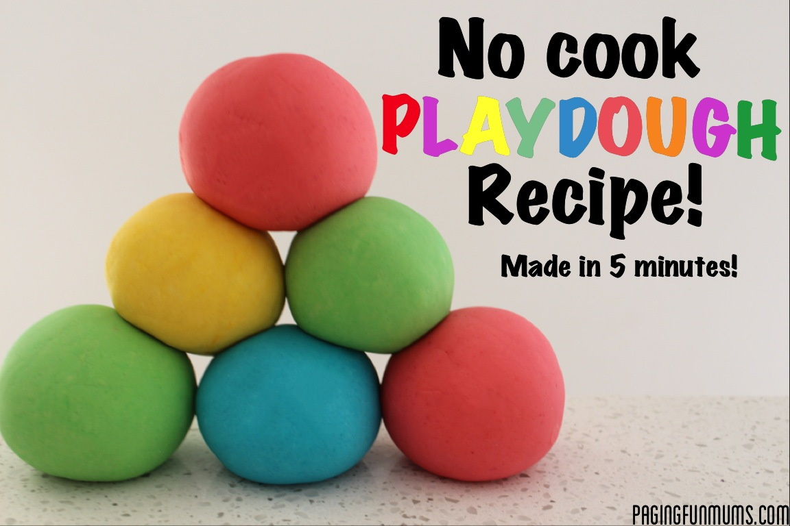 Playdough Recipe Without Cream Of Tartar And Food Coloring