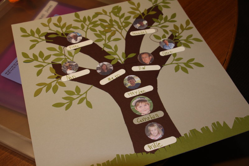 Weekend Workshop Family Tree Craft Thifty Sue