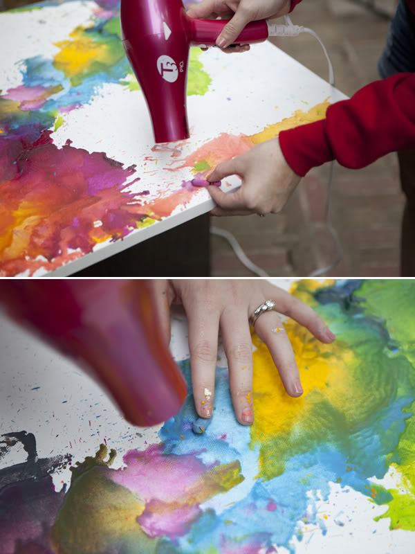Weekend workshop diy melted crayon art thifty sue solutioingenieria Image collections
