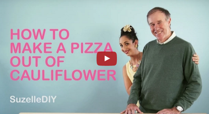 How to Make Pizza out of Cauliflower
