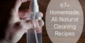 A List of 67 All Natural Homemade Cleaning Recipes