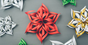 Thrifty Thursday: 3D Paper Snowflake