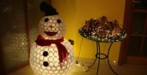 Weekend Workshop: DIY Plastic Cup Snowman
