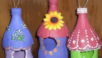 How To Make A Homemade Recycled Bird House